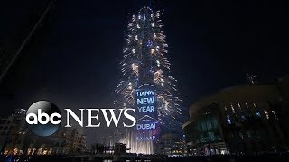 Happy New Year from Dubai