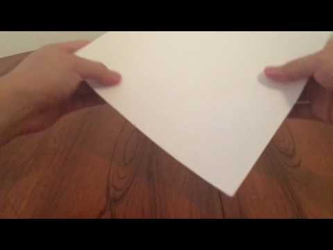 how to even out a stack of papers