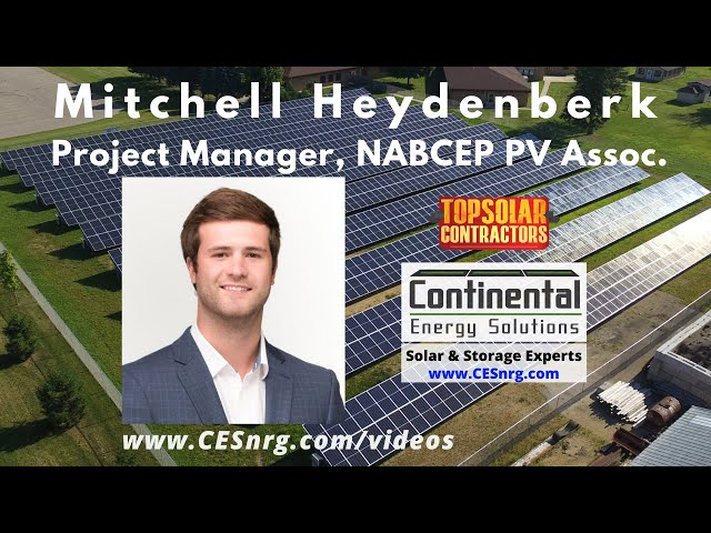 Mitchell Heydenberk - Project Manager, Solar PV