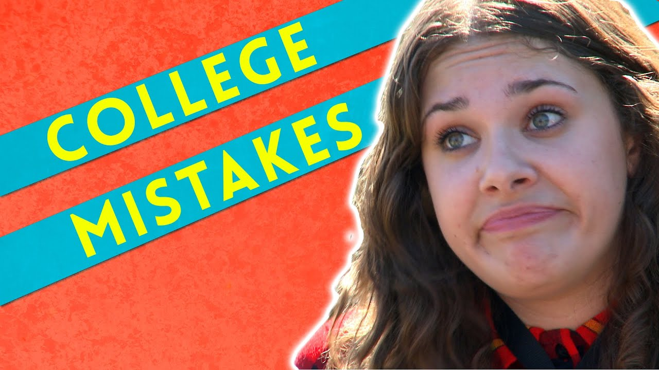 10 rookie mistakes every college freshman makes