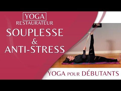 😌 Yoga restaurateur : souplesse et antistress - avec MARYSE LEHOUX 😌