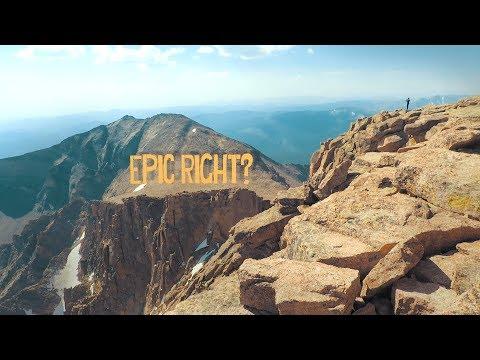 LONGS PEAK || Hiking One Of Colorado's Hardest Peaks