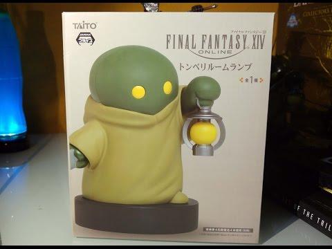 Final Fantasy XIV Lamp: Tonberry [Unboxing]