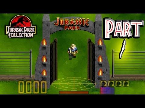 Jurassic Park - SNES Part 1