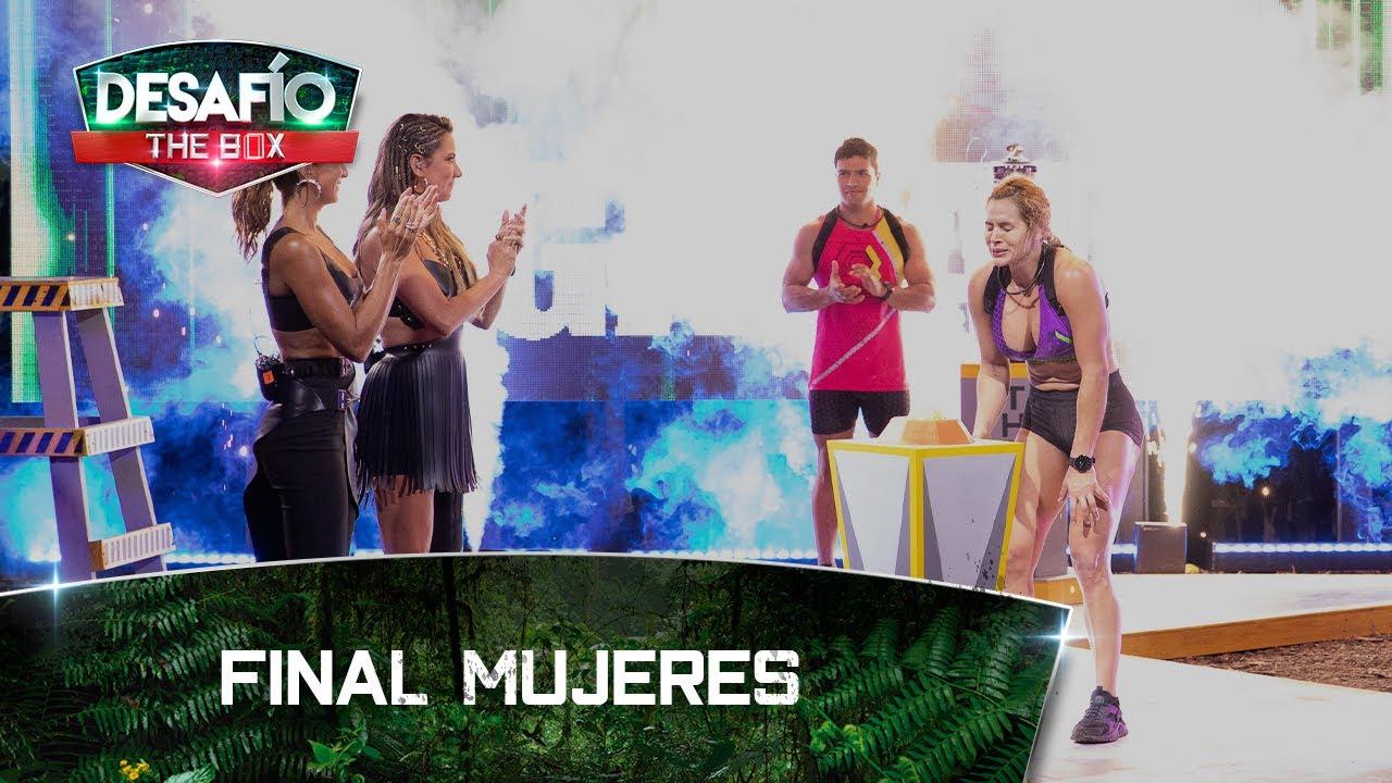 Final Mujeres: Agilidad y concentración: Madrid y Paola luchan por ser la ganadora - Desafío The Box