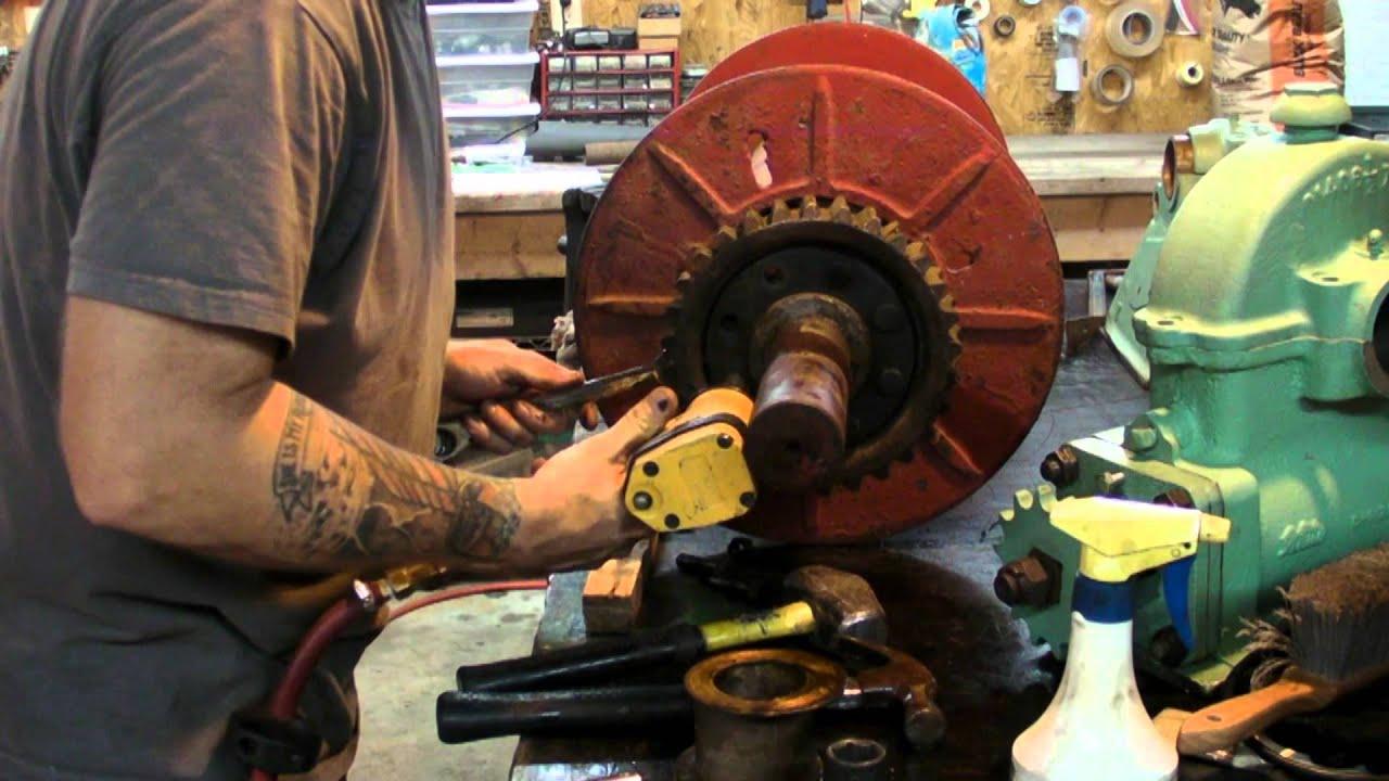 Anchor Winch Rebuild Part 1 Youtube