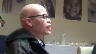 Albinism Activist Mpho Tjope on being the only one in his family with Albinism