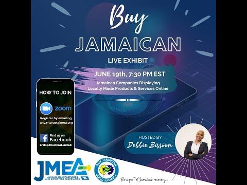 JMEA's BUY JAMAICA LIVE EXHIBIT EPISODE 1: JUNE 19, 2020