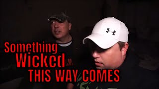 (ABANDONED HAUNTED RECEPTION HALL) THE GHOSTS THAT FOLLOW WILL NOT LEAVE US ALONE