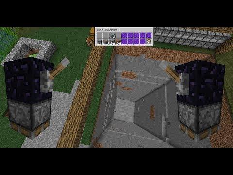 Minecraft Mining Machine Bukkit Plugin Showcase/Tutorial