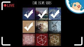 Staszek nadrabia Cube Escape #4   Zapis LIVE