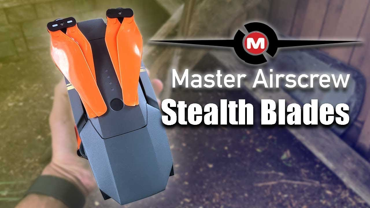 Master Airscrew Stealth Propellers Vs Dji Mavic Blades Review