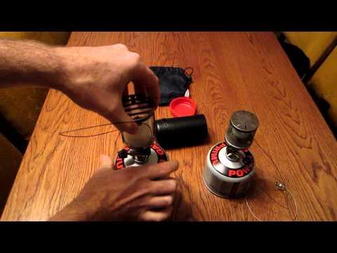 Primus Micron Lantern Glass vs Steel Mesh