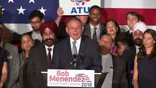 Sen. Bob Menendez: Successful re-election campaign reflects 'victory of hope over hate'