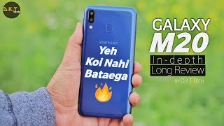 SAMSUNG GALAXY M20 IN-DEPTH LONG REVIEW | With PROS & CONS HEATING ISSUE, CAMERA, BATTERY, GAMING,