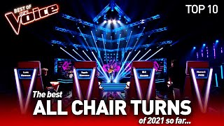 The BEST Blind Auditions of 2021 so far on The Voice | Top 10