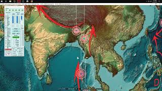 3/22/2019 -- Earthquake Update -- Whole Pacific goes quiet after big push -- What is next? thumbnail