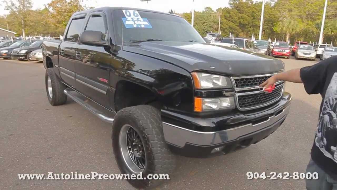 2006 Chevy Silverado For Sale >> Autoline Preowned 2006 Chevrolet Silverado 1500 Lt For Sale Used Walk Around Review Jacksonville