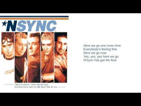 N'Sync: 03. Here We Go (Lyrics)