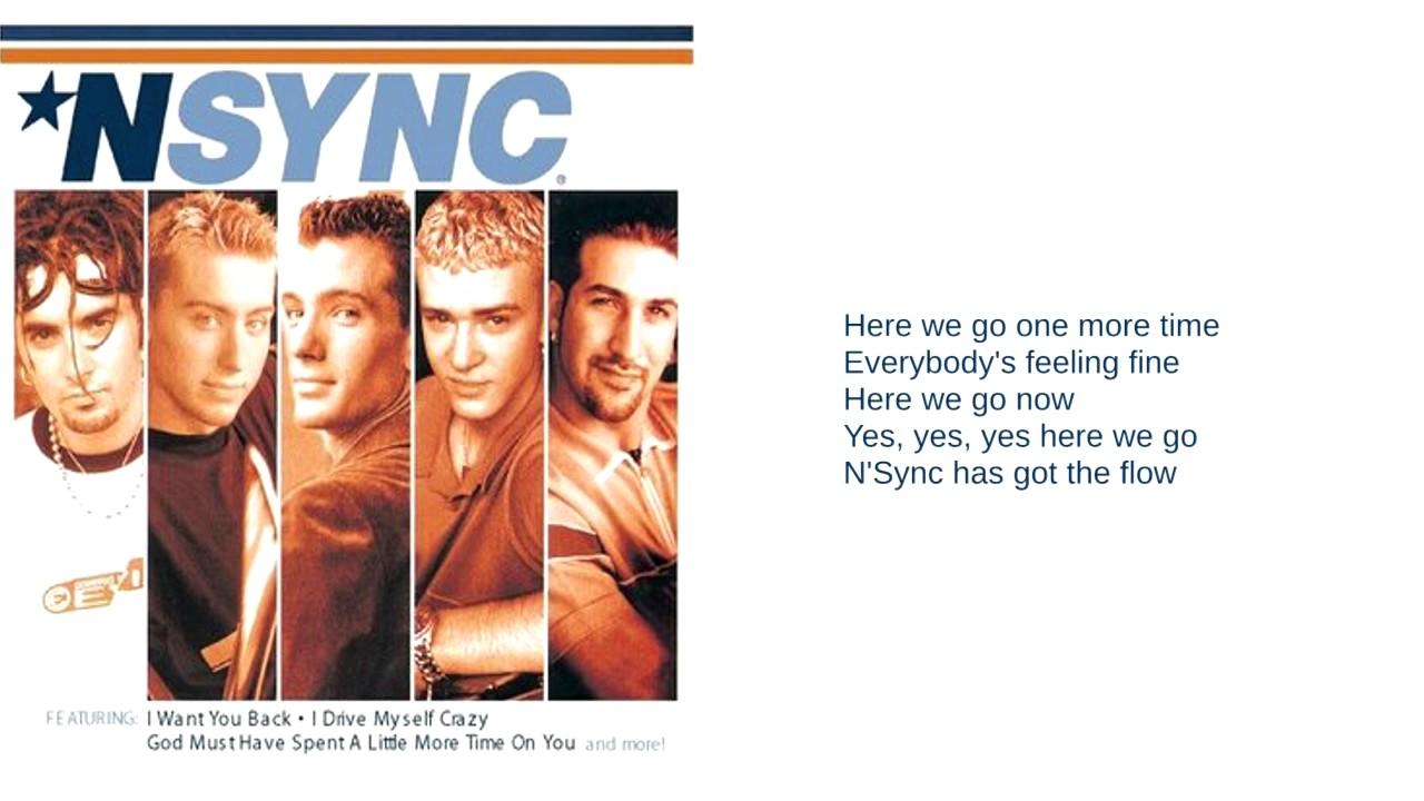 Nsync Font