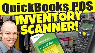 QuickBooks POS Inventory Scanner - Quickbooks POS has advanced inventory functions - Scan bar codes