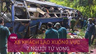 Vụ xe khách lao xuống vực ở Kon Tum: Nạn nhân thứ 7 không qua khỏi | VTC Now