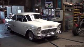 '55 Chevrolet Bel Air dyno run