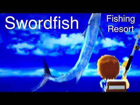 Let's Play: Fishing Resort Wii, Swordfish