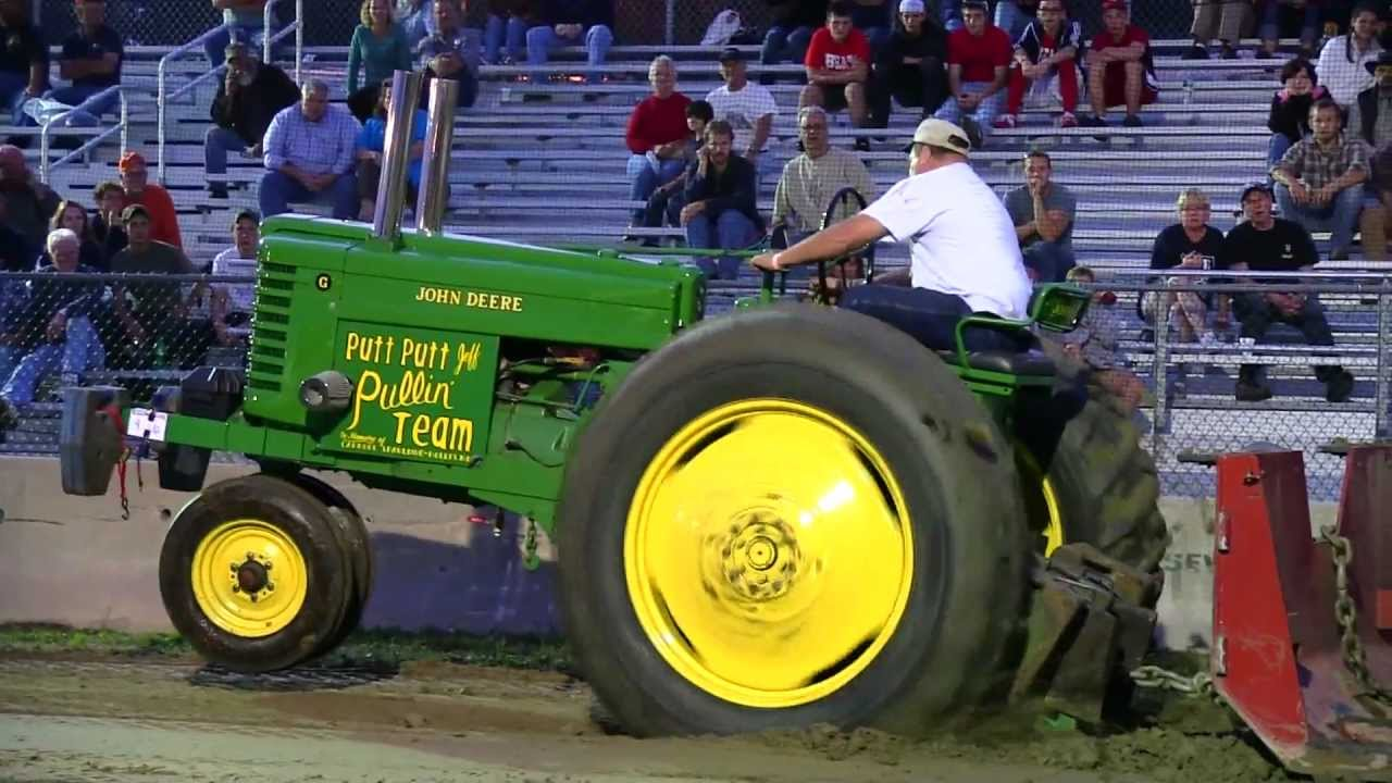John Deere G Tractor For Sale Singer 401a Stitch Diagram 2 Antique Pull Deerfield Fair 2011 Youtube