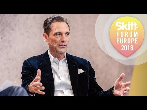 Thomas Cook Group CEO at Skift Forum Europe 2018