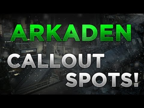 MW3: Callout Spots - Arkaden! (Competitive & Matchmaking)