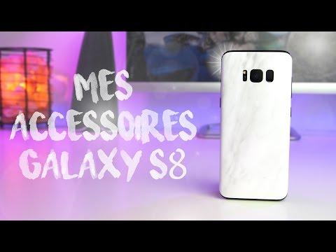 MES ACCESSOIRES POUR GALAXY S8 & S8+ (protections, bracelet connecté, casque audio)