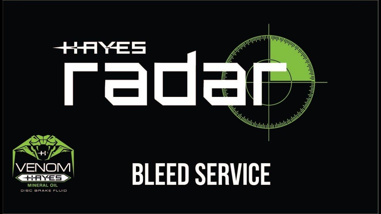 Hayes Mineralöl Radar Venom
