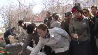 видео В Якутске почтили память воинов-журналистов.