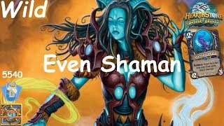 Hearthstone: Even Shaman Post-Nerf #1: Witchwood (Bosque das Bruxas) - Wild Constructed