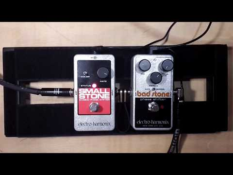 Small Stone vs. Bad Stone - Electro Harmonix Phaser Shootout