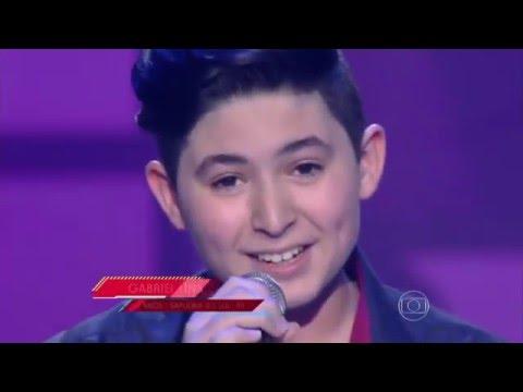Gabriel Lins canta 'Escreve aí' no The Voice Kids - Audições|1ª Temporada