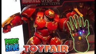 Marvel Infinity War Movie Toy Fair 2018 Hasbro Gauntlet Legends Diamond Marvel Action Figures DC