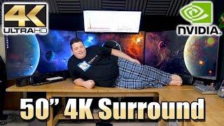 "Using 50"" UHD TV's as Computer Screens"