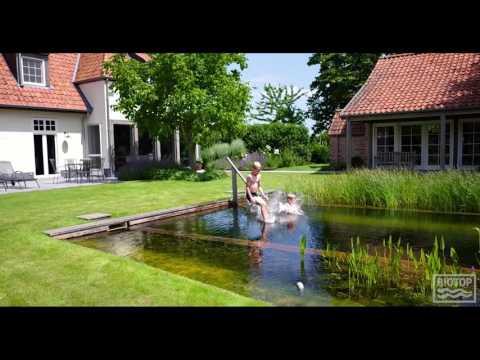 BIOTOP Natural Pools - Drone Flight over Natural Pool in Belgium