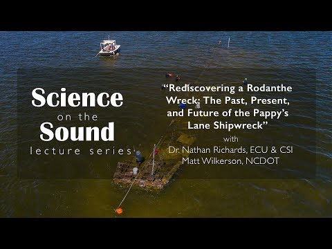 """Rediscovering a Rodanthe Wreck: The Past, Present, and Future of the Pappy's Lane Shipwreck"""