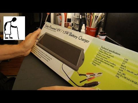 Let's disassemble a solar battery charger