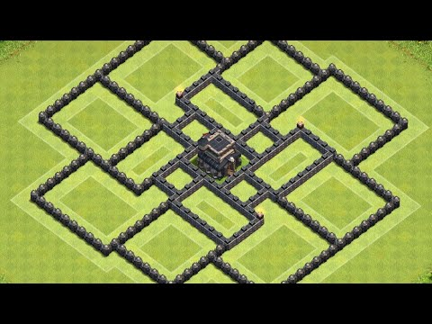 Th9 Base Without X-Bow |Th8.5 Base Farming Clash of clan | ADM Gaming
