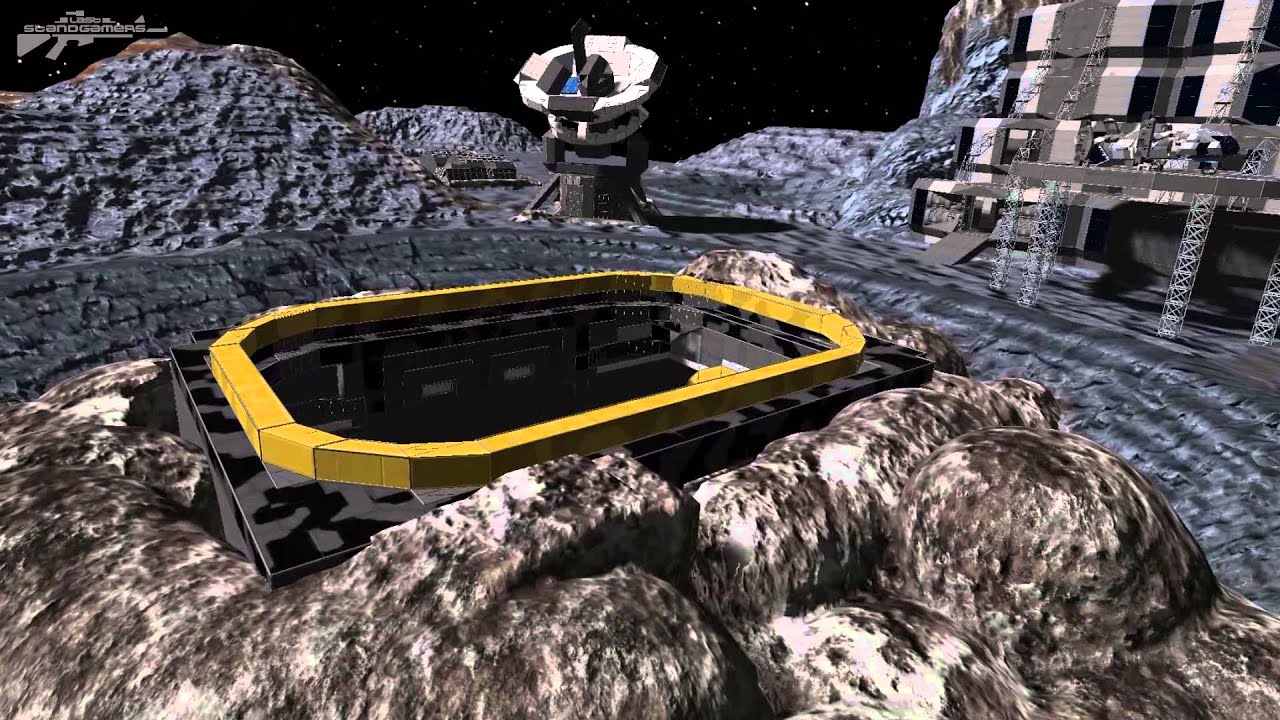 moon base space engineers - photo #2