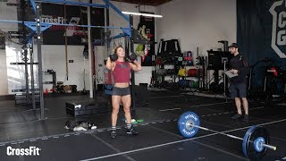 Nicole Carroll's Tips and Demo for Open Workout 18.2