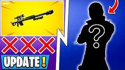 *NEW* Fortnite Update! | Heavy Sniper Nerf, Mauler Skin, New Map Gameplay!