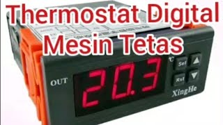 Thermostat Digital 220 Volt Mesin Penetas Telur, Aquarium, dll
