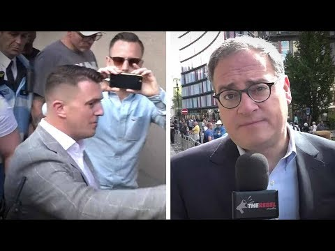 """Ezra Levant: """"Tommy Robinson's case is strong"""""""