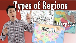 Formal, Functional, and Perceptual Regions: Examples included!