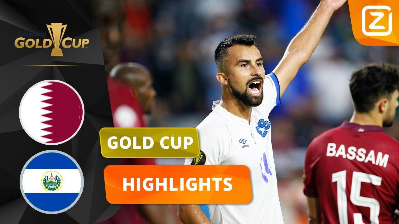 EEN KNOTSGEKKE WEDSTRIJD! 🥵 | Qatar vs El Salvador | CONCACAF Gold Cup 2021 | Samenvatting